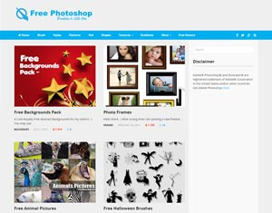 Бесплатные шаблоны для фотошопа