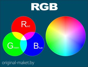 Цветовая палитра rgb