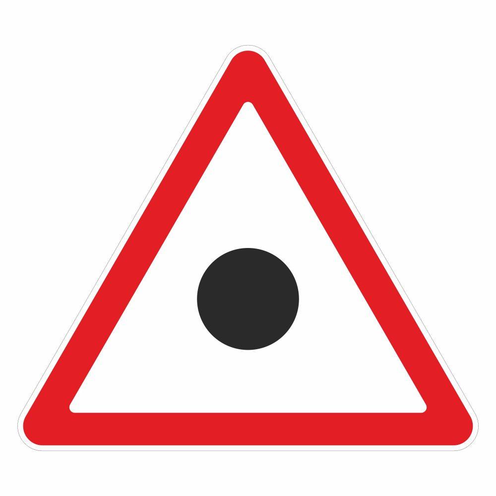 Белорусский дорожный знак в векторе