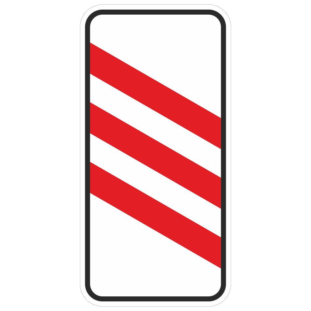 Дорожный знак 1.4.4 в векторе