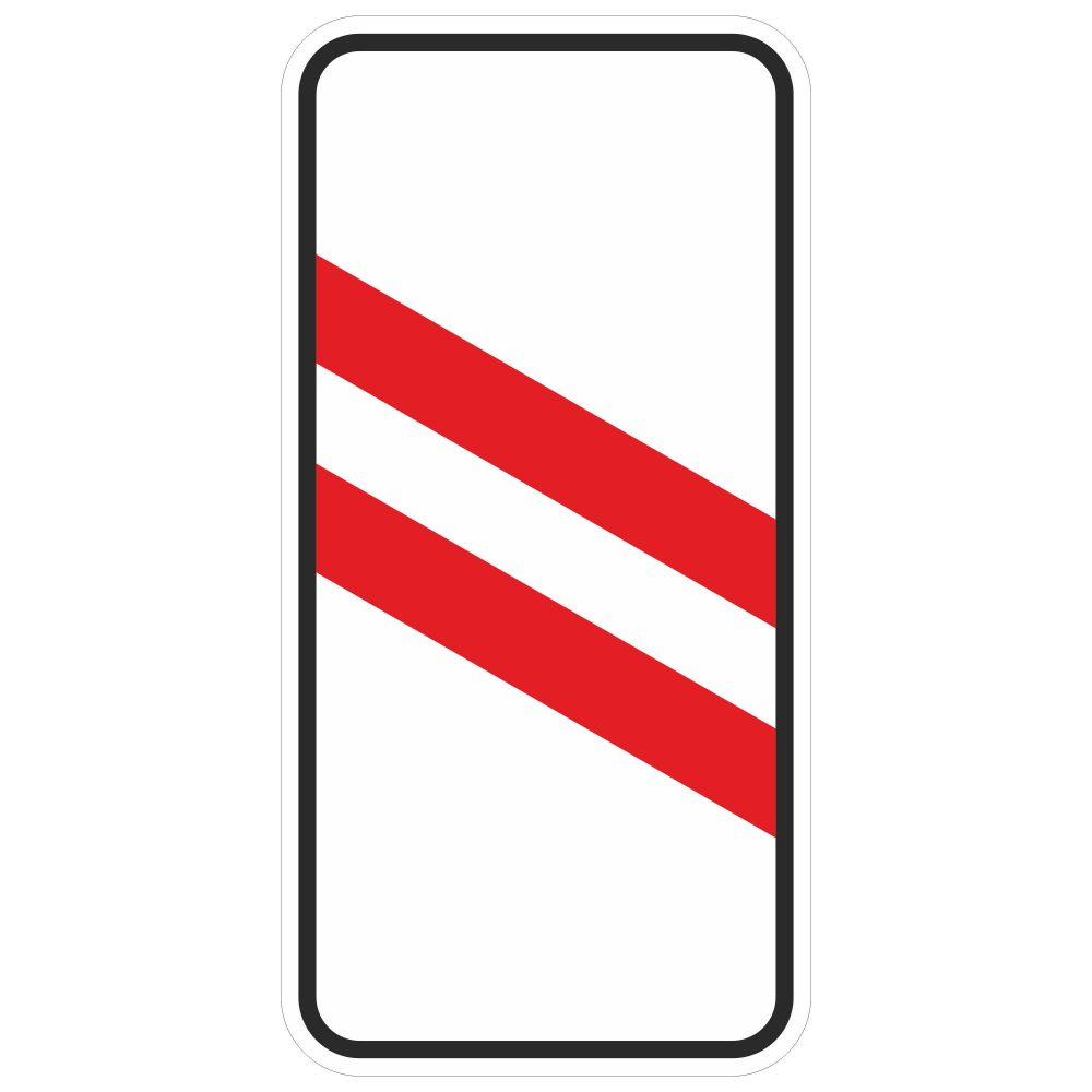 Дорожный знак 1.4.5 в векторе